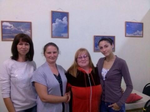 Встреча матерей в Новороссийске
