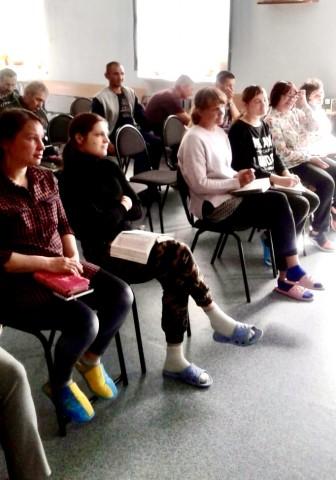 Посещение центра духовно-нравственной реабилитации в г. Томске